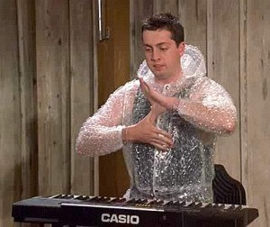 "A member of the Zoltan cult from ""Dude ... Where's My Car""."
