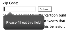 Screenshot of range field for Mac Safari