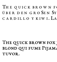 small-caps-eb-garamond-chrome