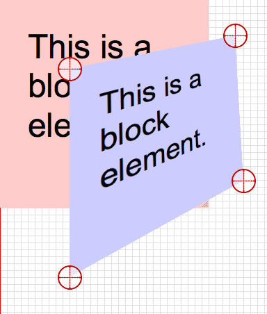 3D Transform with Larger Typography