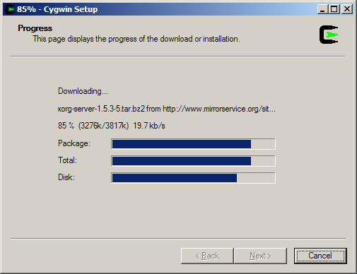 Installing Cygwin and FontForge for Windows